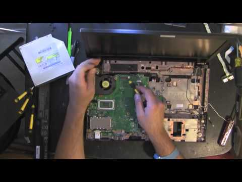 HP 620 take apart video, disassemble, how to open disassembly