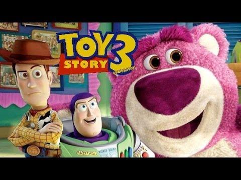 Toy Story 3 - DEUTSCH - Walt Disney - Pixar - Buzz U0026 Woody - Kids Movie - Kinderfilm (Videogame ...