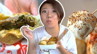 Taiwan Street Food Tour - BEST TAIWANESE BUNS & PORK BAO TO EAT!