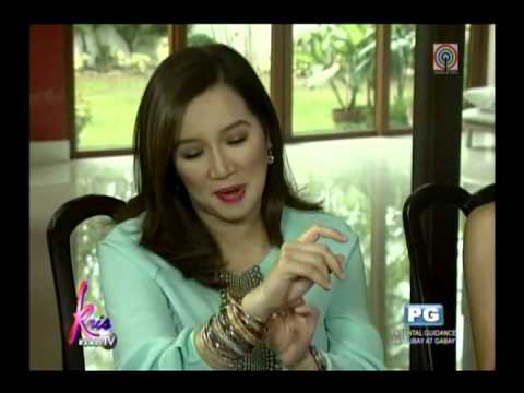 Kris on love life  Hindi pa, text text lang