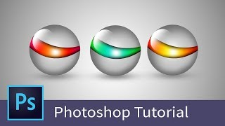 Adobe photoshop tutorial - Learn Photoshop - How to design logo in Photoshop cc - Basic Tutorial