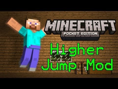 [ANDROID] Super Jump Mod! Minecraft Pocket Edition: Mod Showcase 0.7.2