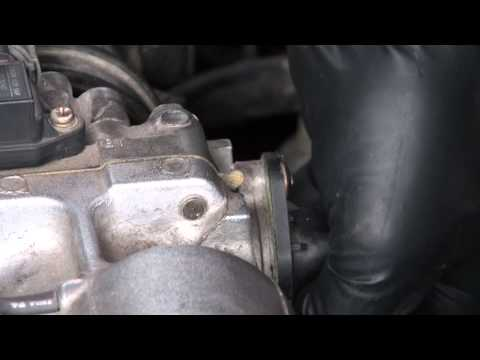 Honda civic d16 tps replacement simple and easy
