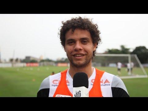 Elenco do Santos FC convoca torcida para jogo contra o Internacional