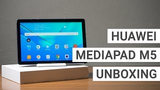 Huawei MediaPad M5 10 Unboxing, Benchmarks & First Impressions