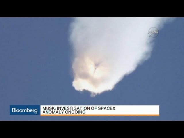 Elon Musk Says Investigation of SpaceX Falcon9 Explosion Is Ongoing