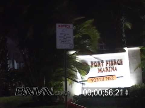 Hurricane Jeanne Video, 9/25/2004 Fort Pierce Florida, Part 3
