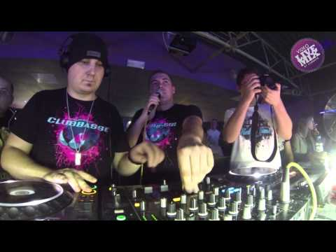 CLUBBASSE VIDEO LIVE MIX 36min @ Holidays (R.T.I.A edycja 4)