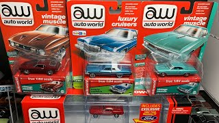 Lamley Live: Opening more Auto World models and going through the collection
