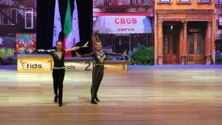 Carla Eme & Nicolas Corsetti - Europameisterschaft 2015