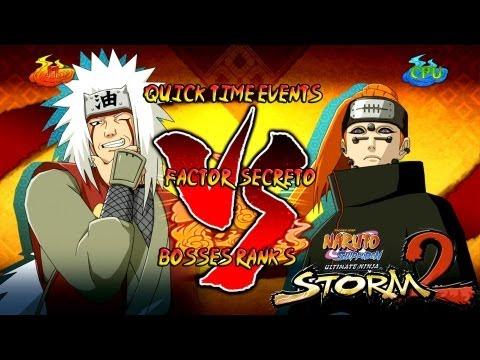 Naruto Shippuden: Ultimate Ninja Storm 3 1080p Boss 8 Pain Rank S | Jiraiya Vs Pain video