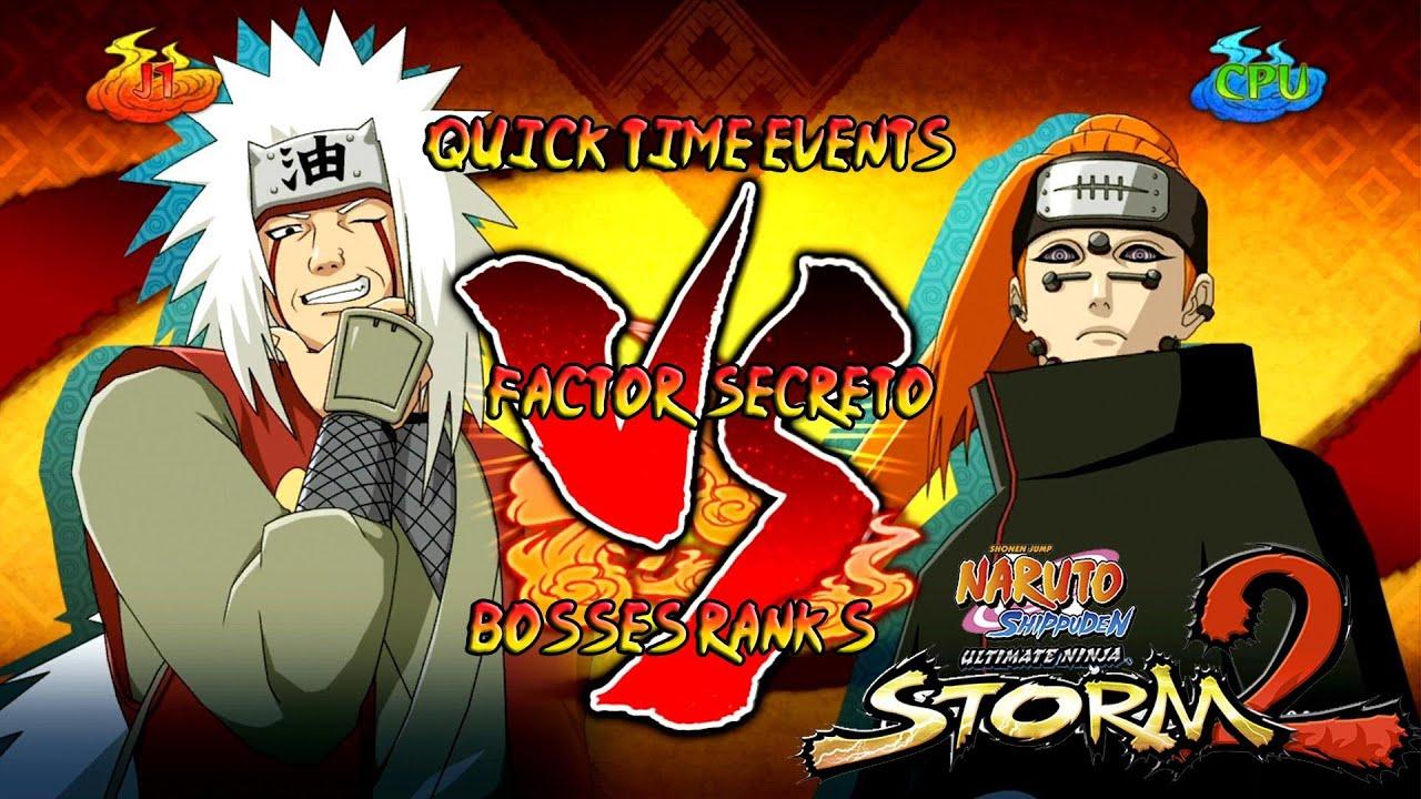 Naruto Shippuden Ultimate Ninja Storm 3 1080p Boss 8 Pain
