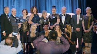 Winners of the 2017 Curtin Alumni Achievement Awards