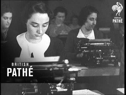 <タイパー必見>1938年にミラノで行われたタイピング大会の映像発見!