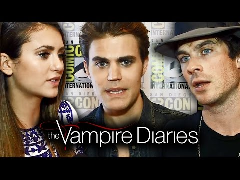 The Vampire Diaries Cast Teases Season 6 - Comic-con 2014 video