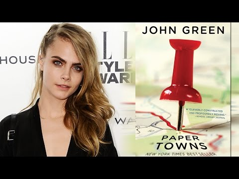 Cara Delevingne Scores Lead Role in John Green's 'Paper Towns'