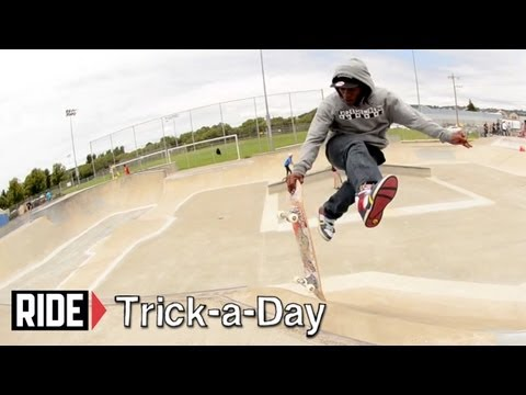 How-To Airwalk With Ron Allen - Trick-a-Day