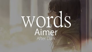 ?HD?After Dark - Aimer - words??????