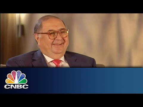 Alibaba Investment up 500% | Alisher Usmanov Exclusive | CNBC International