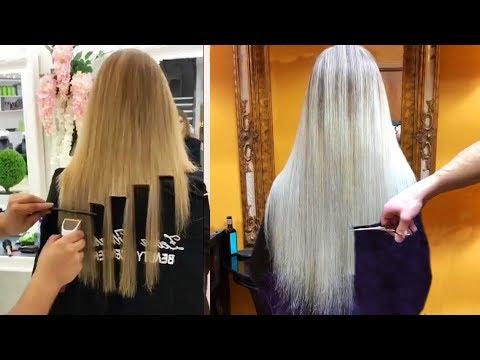 Top 10 Amazing Long Hair Cutting Tutorials Compilations Long
