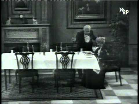 Dinner For One - 1963 Original German Version - Vger + Veng - Black And White video