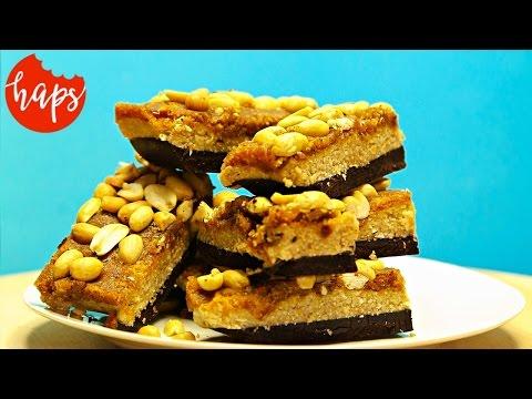 Surowe Batoniki Snickers - Bez Pieczenia. Najlepsze Na Lato