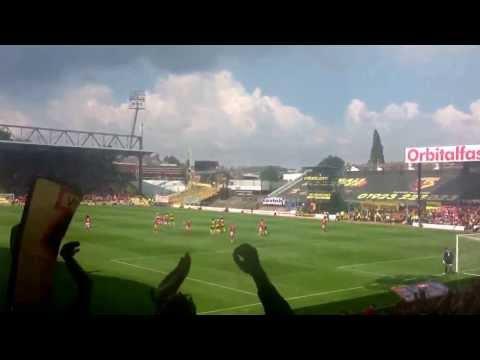 Lewis Mcgugan Free Kick Watford Mcgugan Free Kick For Watford