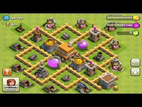 Town Hall Level 5 Defense  Best Strategy for Clash of Clans Design Layout