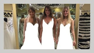 💍 WEDDING DRESS SHOPPING! | iJustine