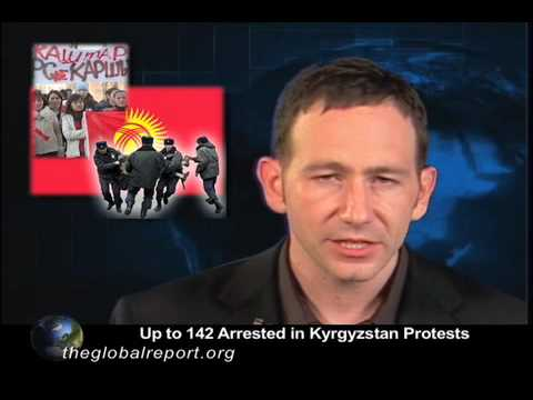 Up to 142 Arrested in Kyrgyzstan Protests