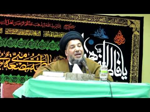 SAYED MOHAMAD SAABARI - IMAN ISLAMIC CENTER, BOSTON, MAJLIS AL-ABBASS (A.S) PART-1