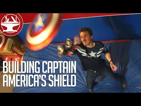 How Do You Make Captain America's Electromagnet Shield?