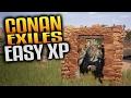 Conan Exiles Gameplay - Easy XP Creature Trap & Pit of Yog Construction (Let's Play Conan Exiles) MP3
