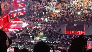 WWE Monday Night Raw at Madison Square Garden Stone Cold Steve Austin