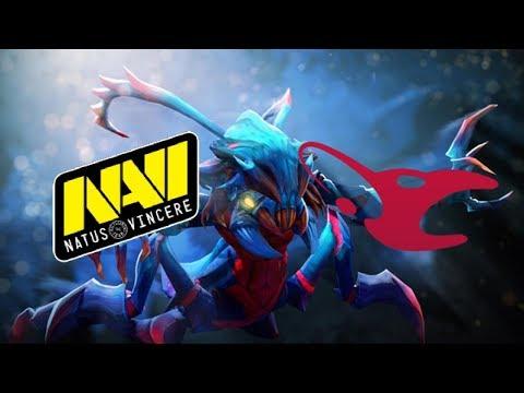 Navi vs mousesports D2CL Season 10 Highlights Dota 2