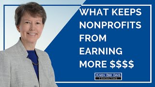 What Keeps Most Nonprofits from Earning More Revenue?