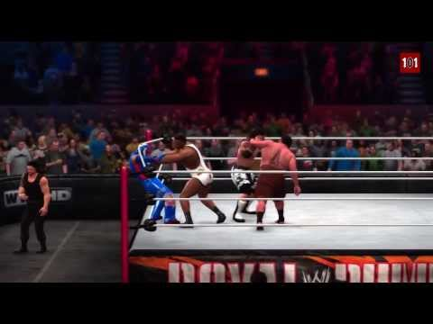 WWE 2K14 MACHINIMA - WWE Royal Rumble Match 2014 - Wrestlemania...