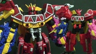 Power Rangers Dino Charge Mini Megazord Toys 파워레인저 다이노포스 장난감