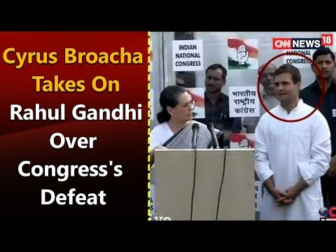 Watch: Cyrus Broacha takes on Rahul Gandhi over Congress's defeat