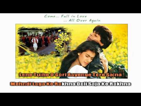 The Karaokchannel Mehndi Laga Ke Rakhna (ddlj) video