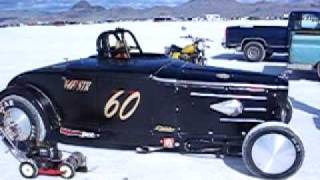 Pedro s Montana Dodge Boys Fast Four Special Pre-record warm up Bonneville 2009 V4F/STR 60