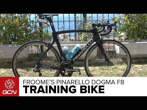Chris Froome's Pinarello Dogma F8 Training Bike