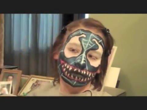 Venom Spiderman Face Painting