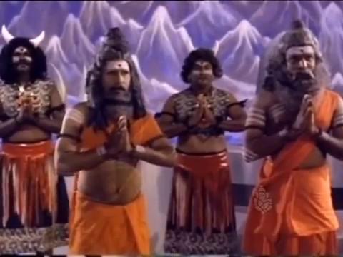 Rudra thandavam by Sridhar in  the Kannada film Kollura Sri Mookambike