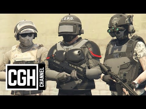 Doomsday Heist Freemode Armor Test - GTA Online