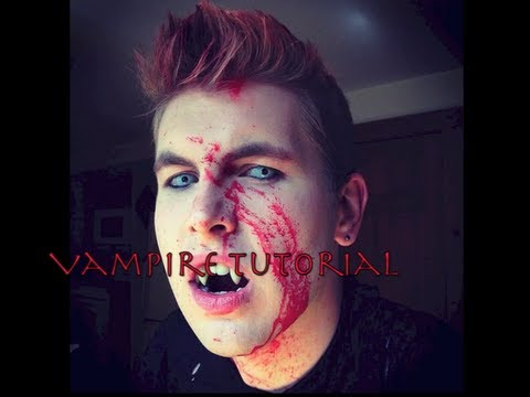 Vampire Makeup & Costume Tutorial