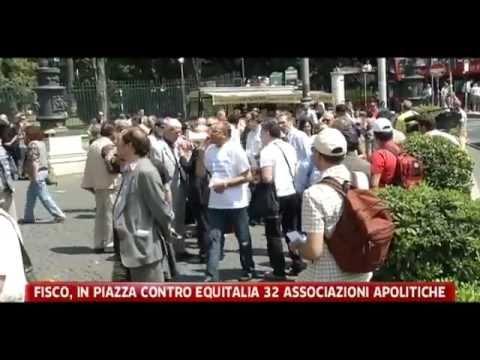 Sky Tg24 – Manifestazione Nazionale anti Equitalia del 16/06/2011 in Roma