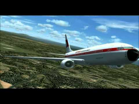 737NG Garuda Indonesia The Retro Livery - An FS2004 Movie