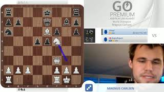 """Oh! that was really lazy & dumb!"" Magnus Carlsen vs chess24 user kleopl"