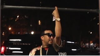 French Montana vs Wale in a Pull Up Contest